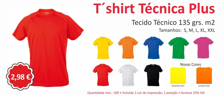 4184  T´SHIRT ADULTO TECNIC PLUS